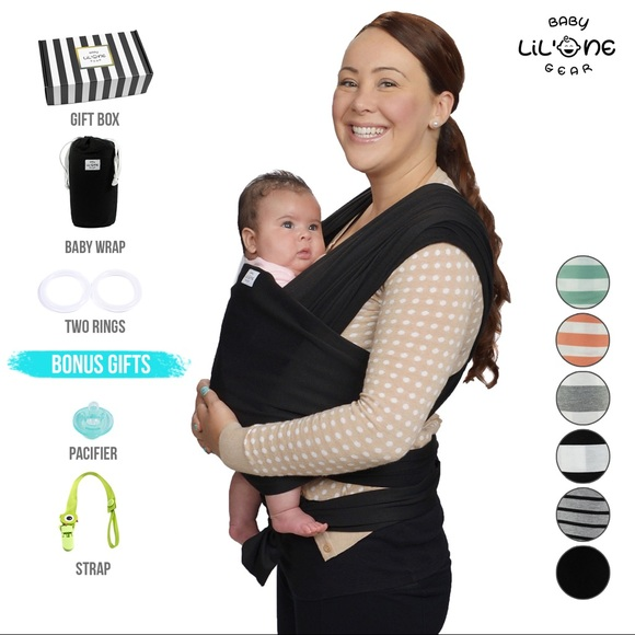 fd3a52d0410 Baby Wrap Carrier Ring Sling All-in-One